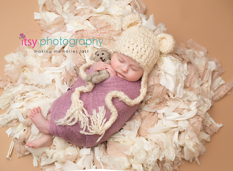 Baby Allie 2 Months Old ~ DC, VA, MD Newborn Baby Family Photographer