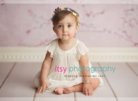 Baby Kennedy pinwheels backdrop cake smash ~ DC, VA, MD Newborn Baby Family Photographer