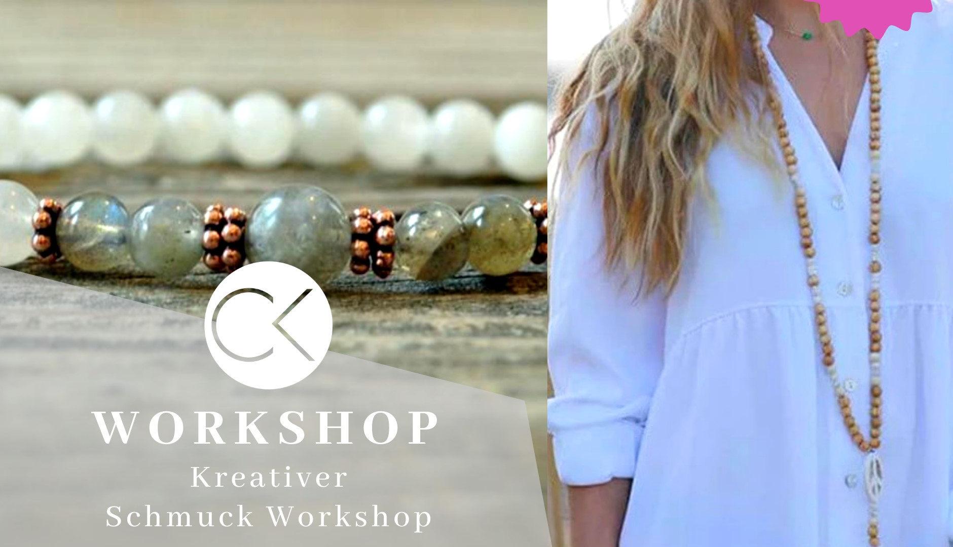 Schmuck Workshop Mala Kette und Armband im Atelier Christiane Klieeisen