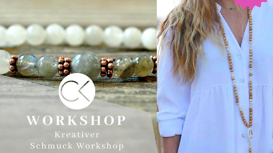 Workshop Mala Kette und Armband im Atelier Christiane Klieeisen