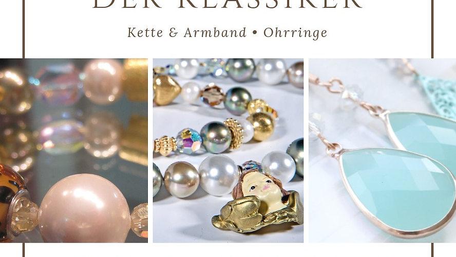 """Schmuck Workshop """"Kette, Armband, Ohrringe"""""""