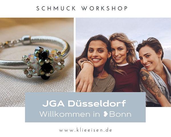 JGA Düsseldorf in Bonn, viel Spaß beim Schmuck Workshop.jpg