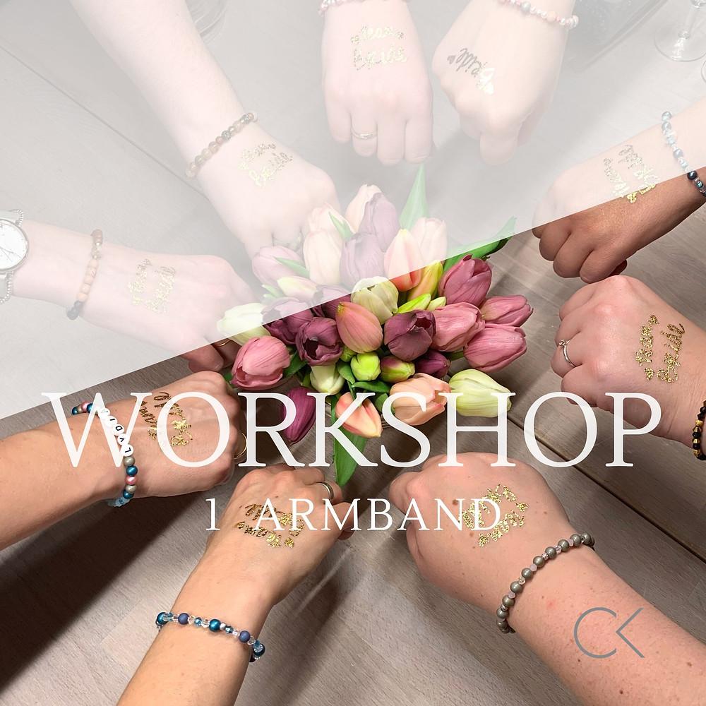 Schmuck Workshop als Event, Junggesellinnenabschied, JGA im Großraum Bonn/Köln und Düsseldorf und Siegen