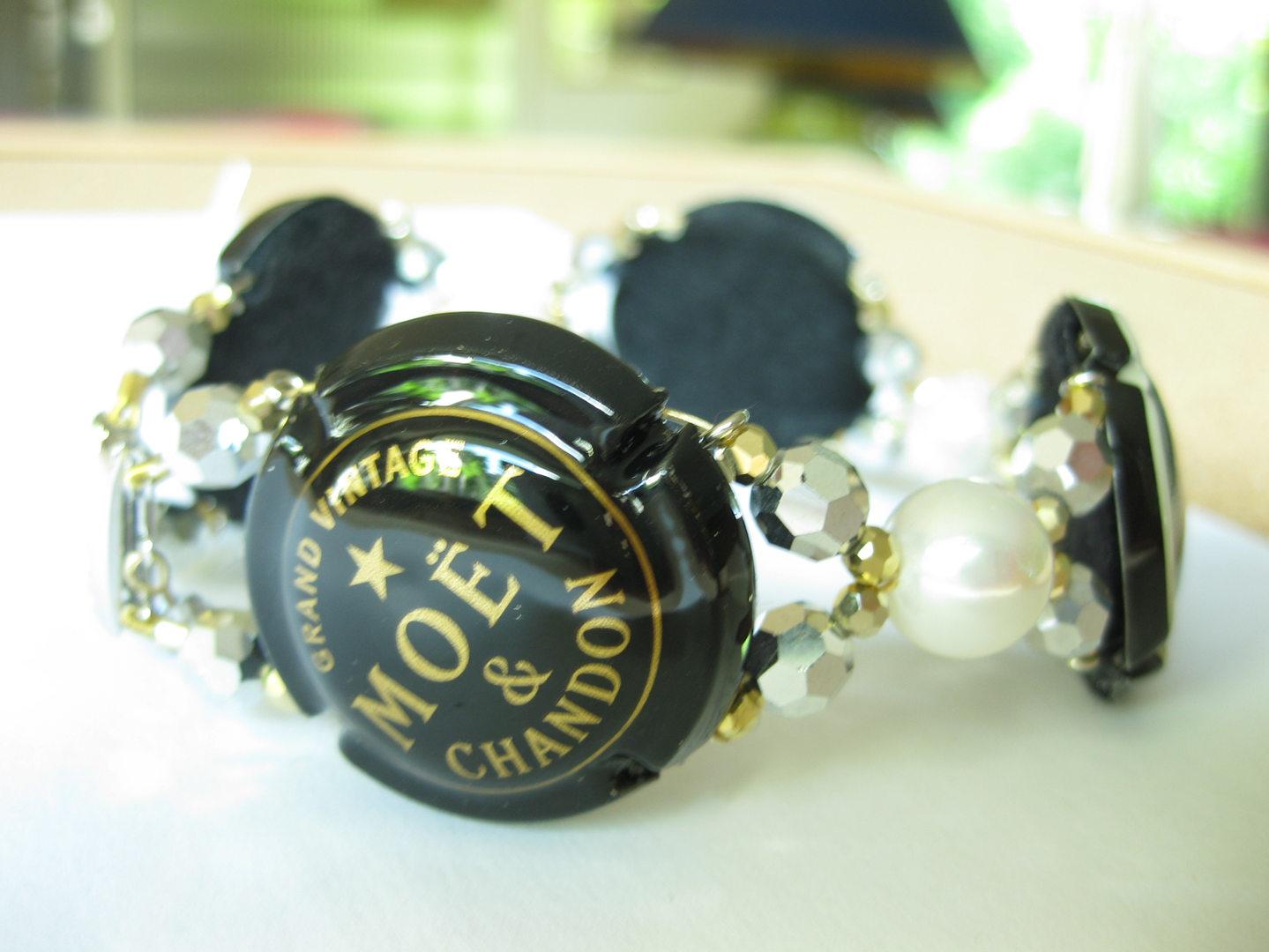 Armband Champagner aus dem Atelier Christiane Klieeisen