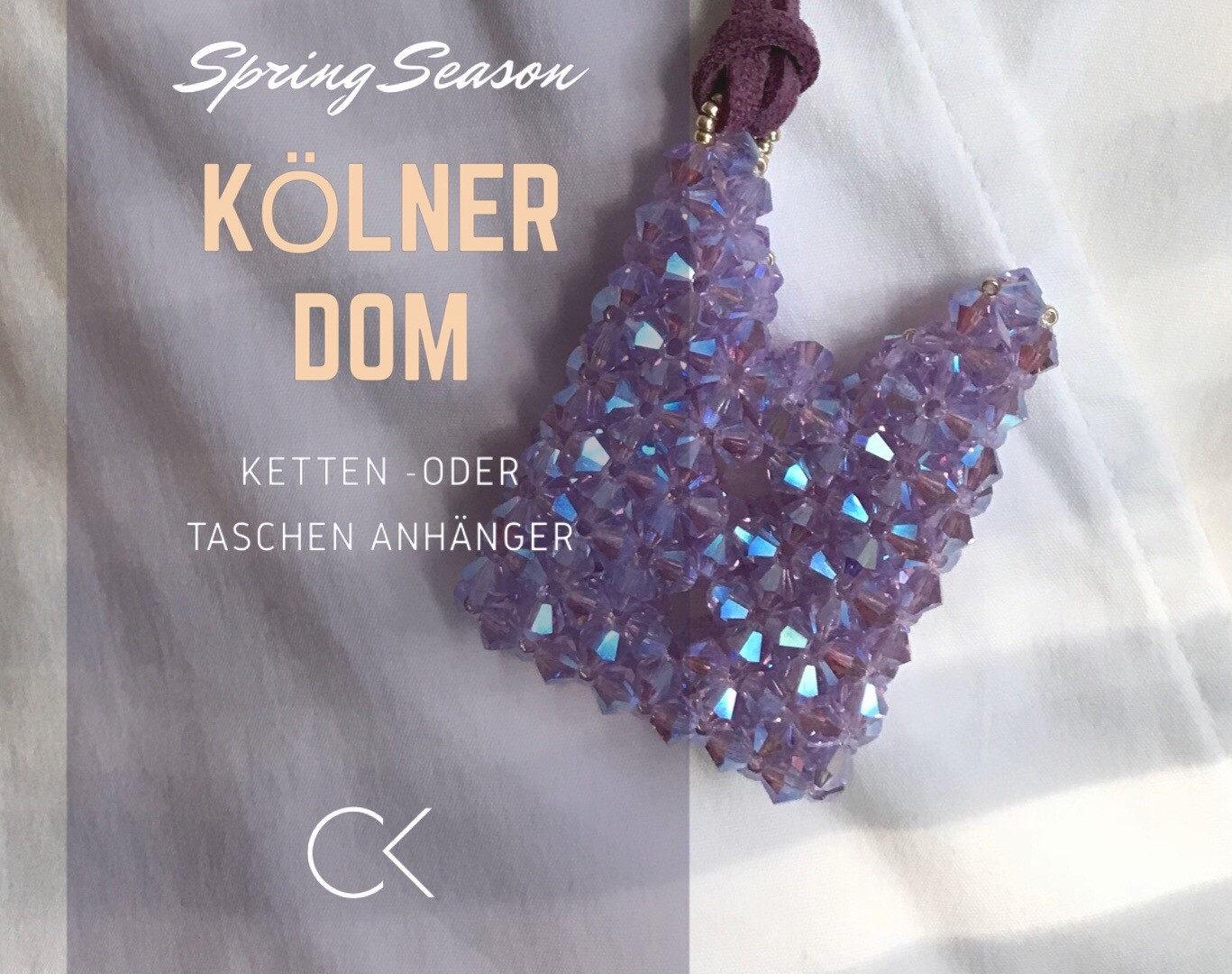 """Kölner Dom"" als Taschenanhänger"