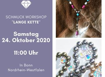 """Schmuck Workshop """"Lange Kette"""""""