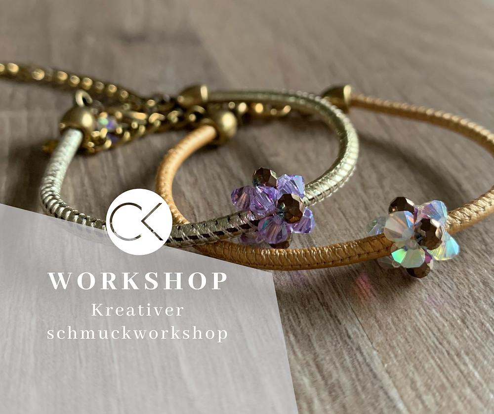 Schmuck Workshop als kreativer Event im Großraum Bonn/Köln, Düsseldorf und Koblenz