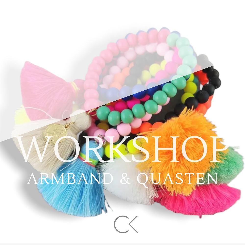 Schmuck Workshop für einen kreativen Junggesellinnenabschied, JGA, Team Event, Geburtstag, Kinder und Teenager Geburtstag in NRW