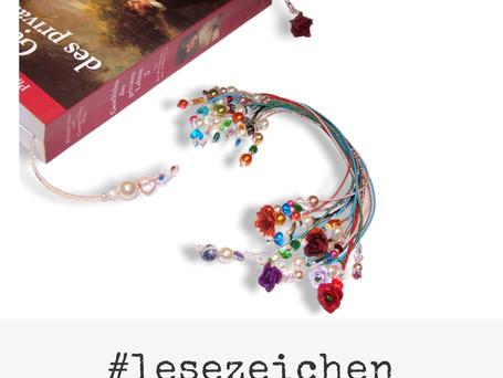 Schmuck Workshop: Lesezeichen mit Perlen