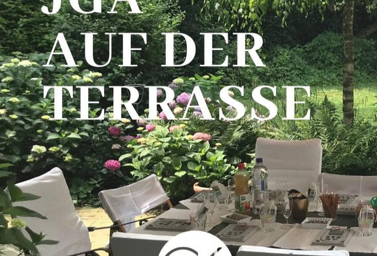 Junggesellinnenabschied auf der Atelier-Terrasse
