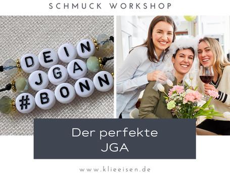JGA Bonn: Kreativer Schmuck Workshop für Hobby Schmuck Designer