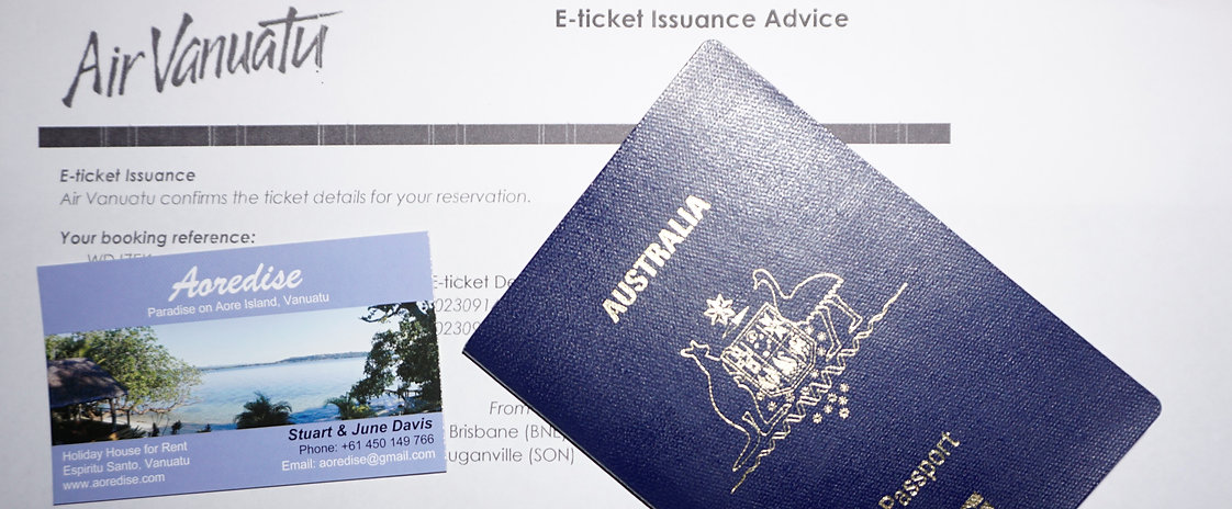 Easy flight from Australia, New Zealand and many other Countries, with no Visa needed