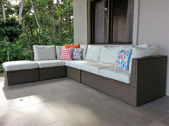 Outdoor Lounge on Front Deck