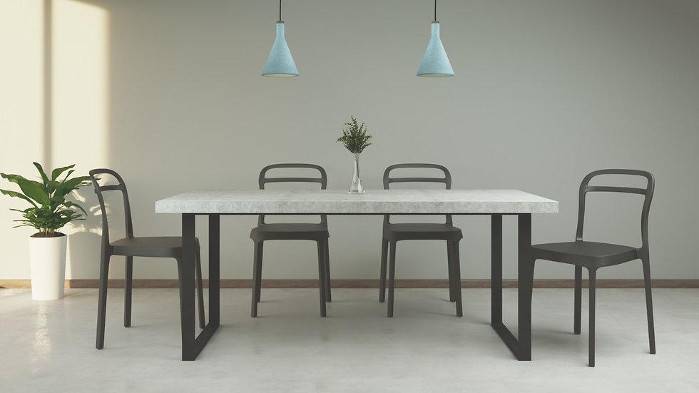 Mesa de comedor - Concreto 180x95  CO-02