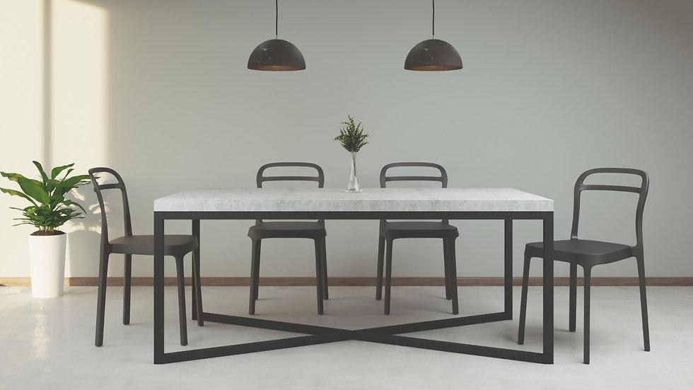 Mesa de comedor - Concreto 180x95  CO-01