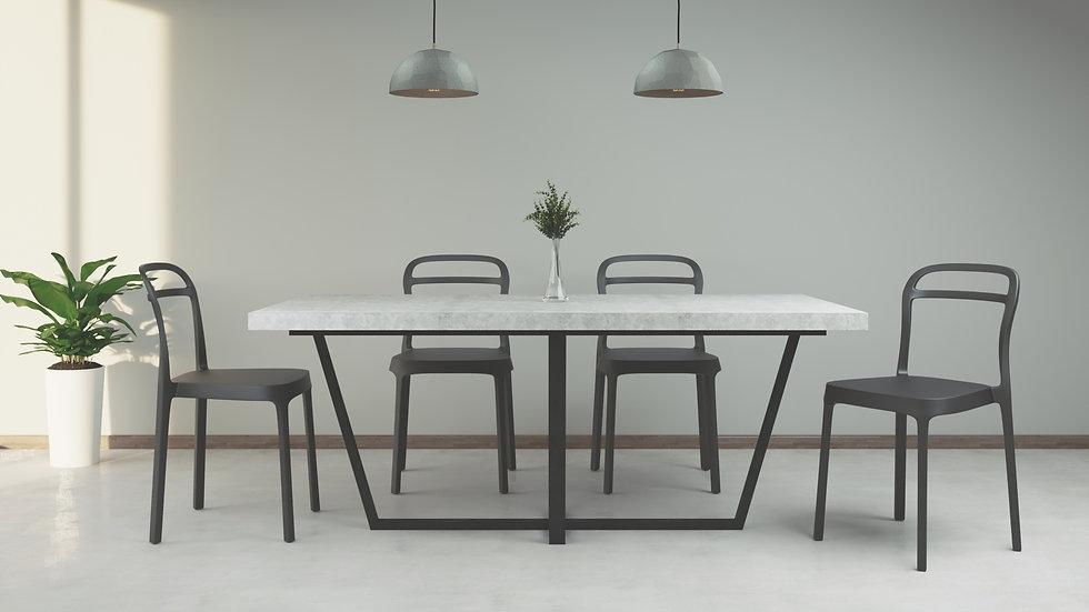 Mesa de comedor - Concreto 180x95 CO-04