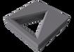Cubo Triángulo - Celosía