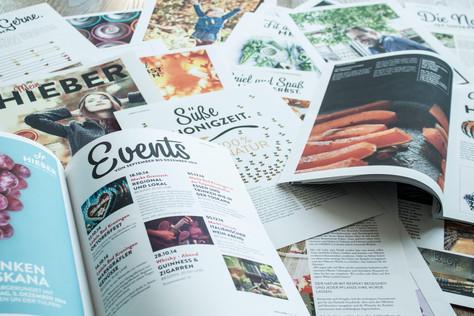 EDEKA HIEBER Konzeption, Kreation und Realisation eines Kundenmagazins