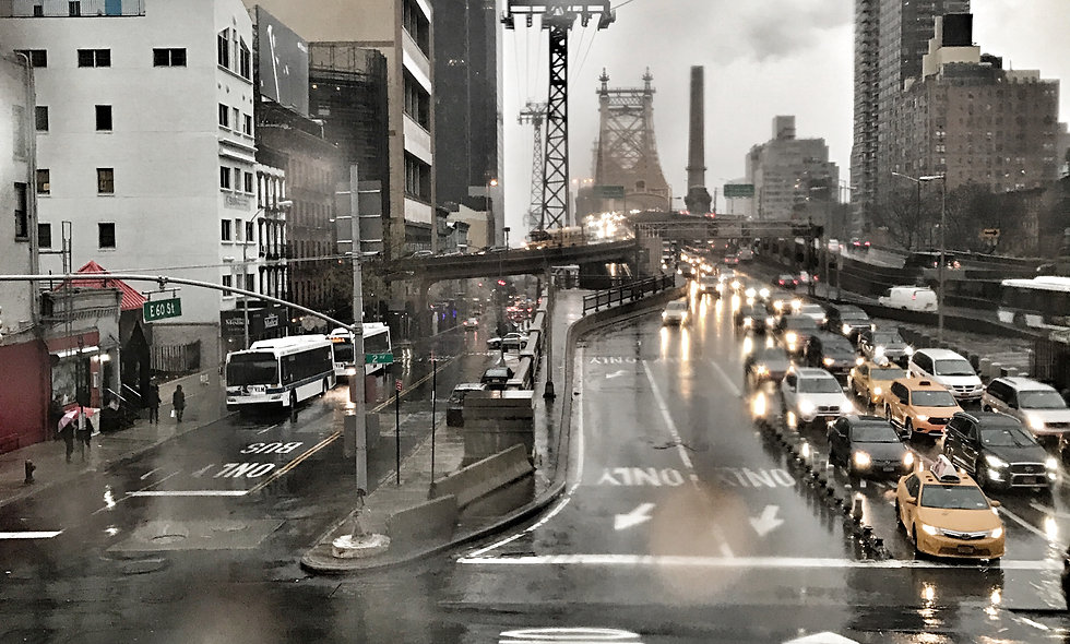 Queensboro Bridge Drops II