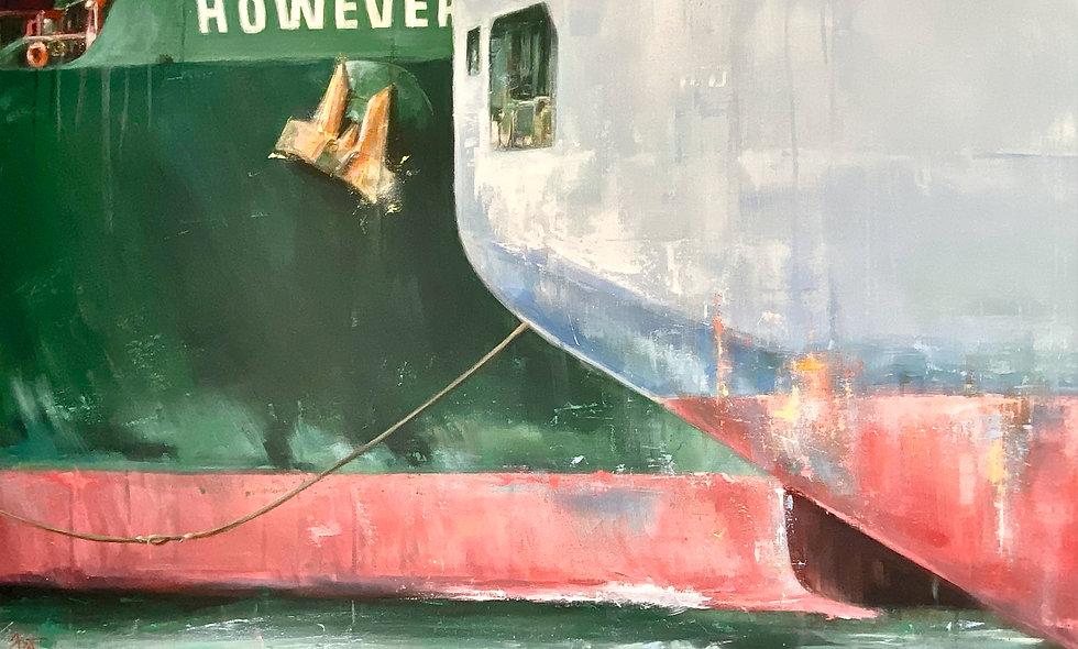 However | Acryl auf Leinwand | 100 x 140 cm