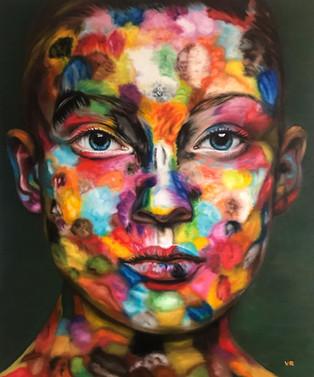 Anna in Farben.