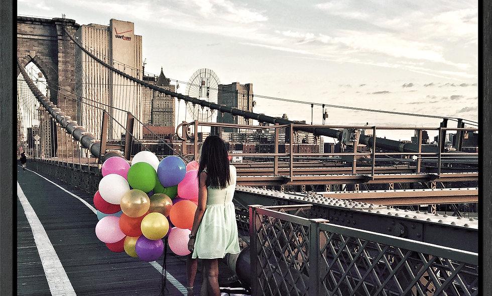Balloons // Fotografie auf Leinwand gerahmt // 80 x 80 cm
