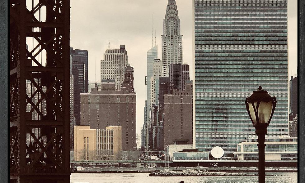 Chrysler Building // Fotografie auf Leinwand gerahmt // 80 x 80 cm