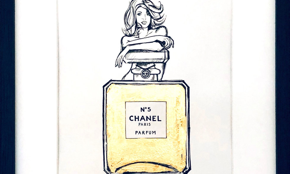 I'm not naked, perfume is my clothes