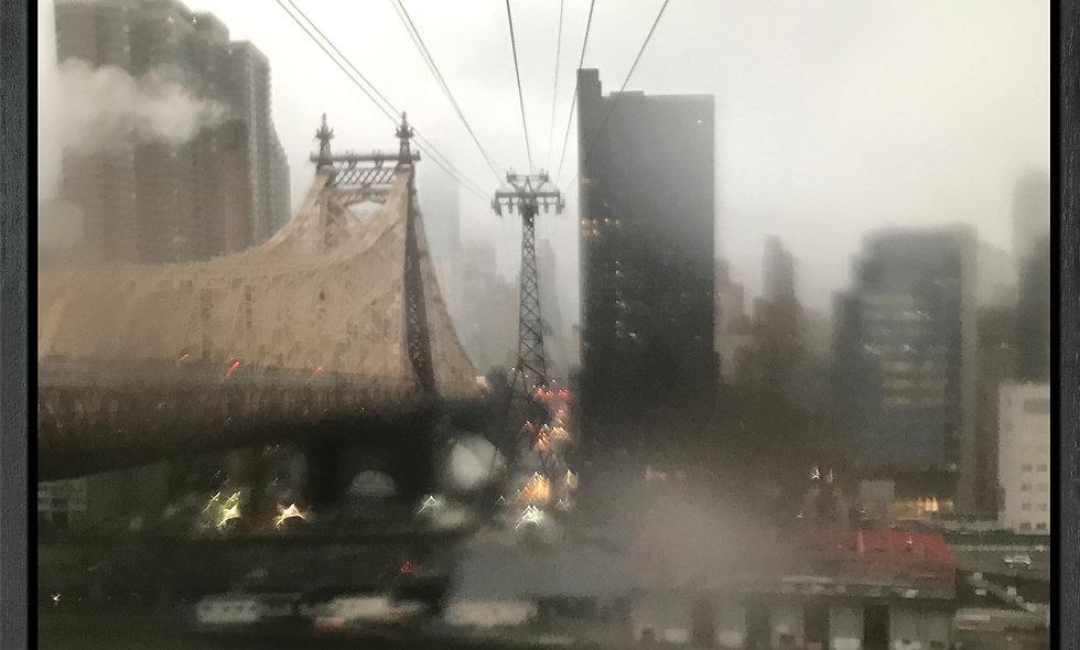 Queensboro Drops 3 | Fotografie auf Leinwand | gerahmt | 80 x 80 cm