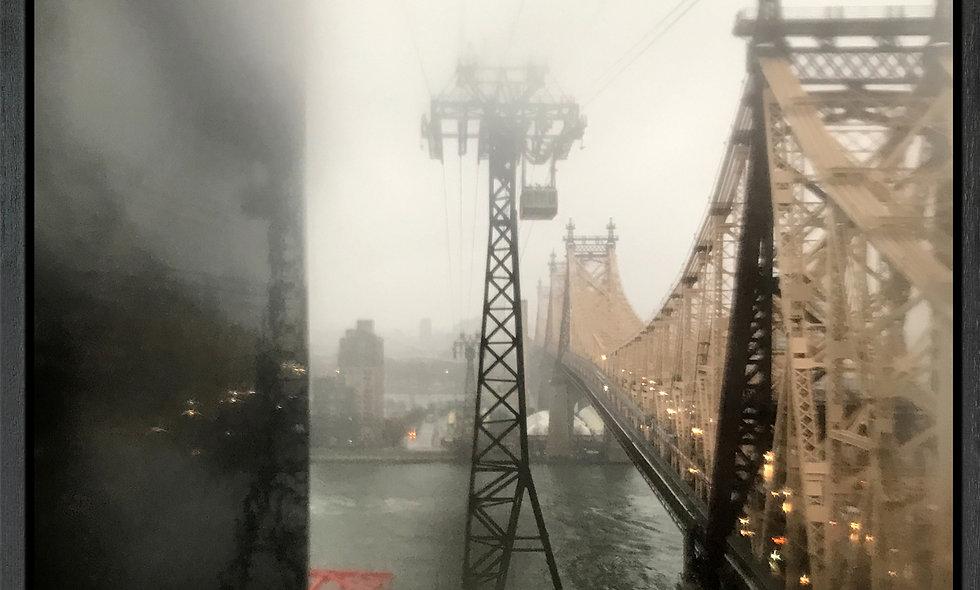 Queensboro Drops 4 | Fotografie auf Leinwand | gerahmt | 80 x 80 cm