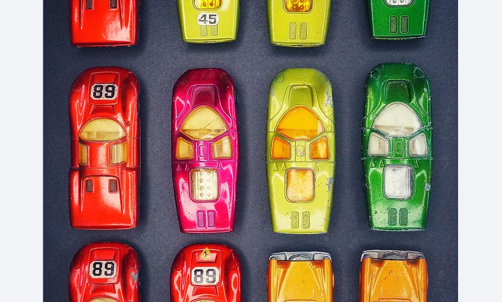Matchbox 3 x 4 // bunt // Acrylglas