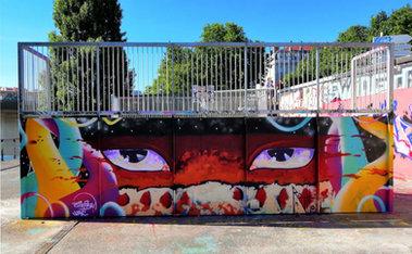 Skate park de Foch / Capie & Raffu / Lyon