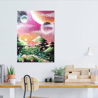 PANDORA (Peinture à la Bombe sur toile)