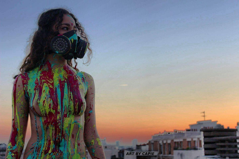 Bodyapinting Rooftop Paris