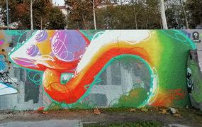 Fresque à Foch / Lyon