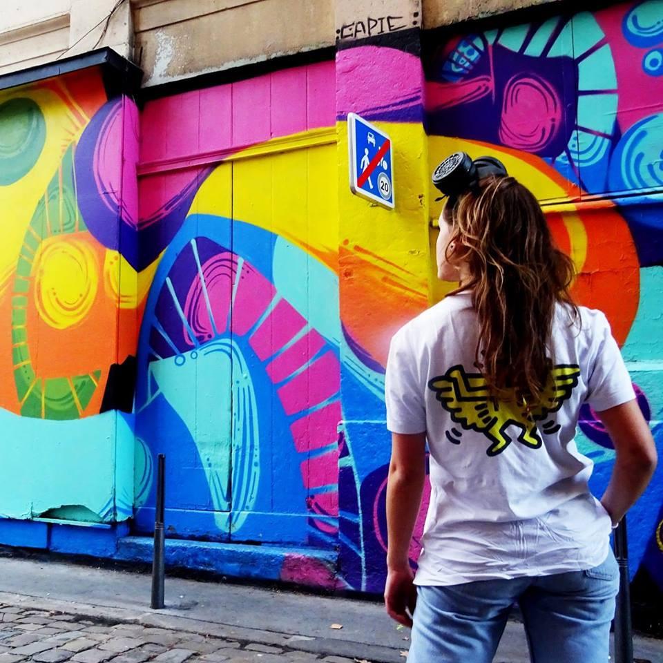 Peinture sur mur Lyon 1er