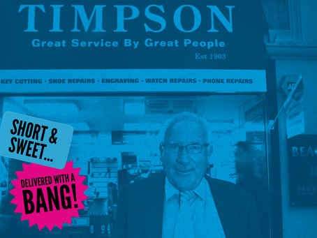 SIX LEARNINGS FROM SIX QUOTES - Sir John Timpson