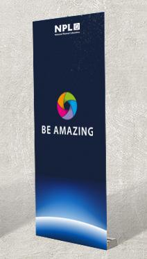 Branded banner