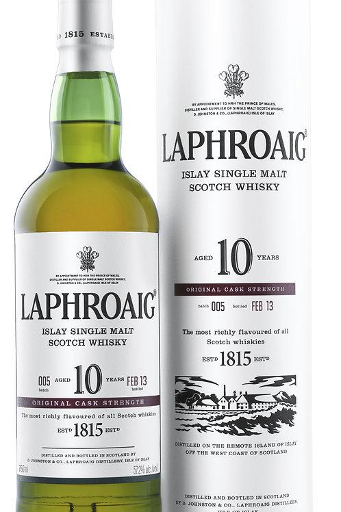 Laphroaig 10 year single size 750