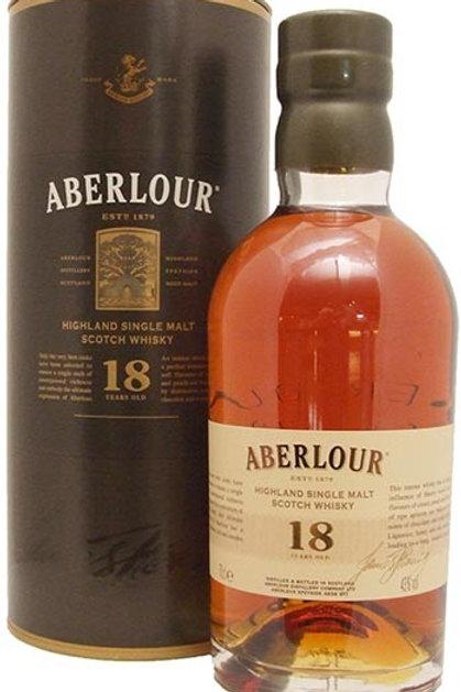 Aberlour 18 year size 750