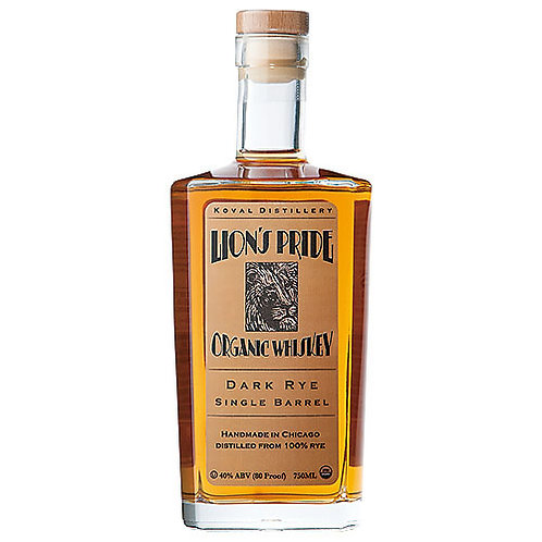 Lions Pride Organic Whiskey size 750