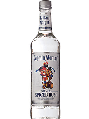 Captain Morgan Silver Spiced Rum size LT