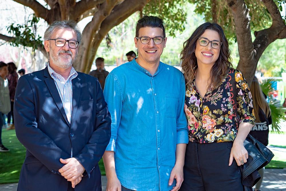 Llorenç Roán, Sergio Agueitos i Aitana Mas