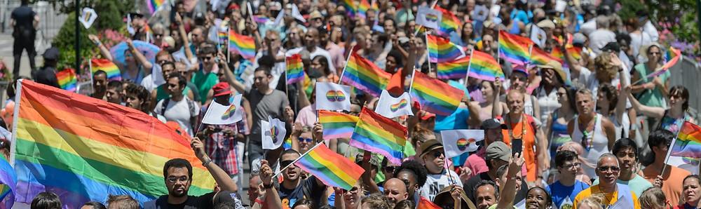 Manifestació Orgull LGTBI