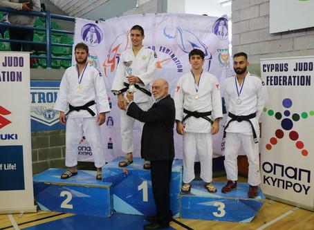 National Championship Medal for Sam Sampson