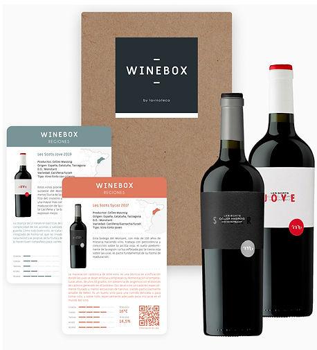 Winebox Lanzamiento Regiones