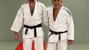 Andreas Kouyialis awarded 1st Dan black belt!