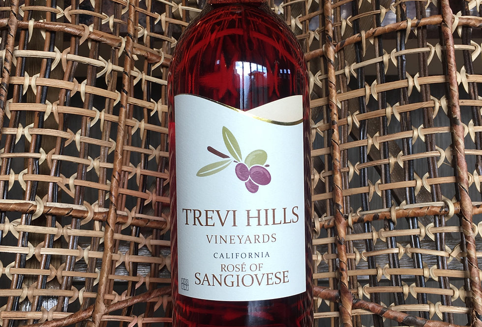2019 THV Rose' of Sangiovese