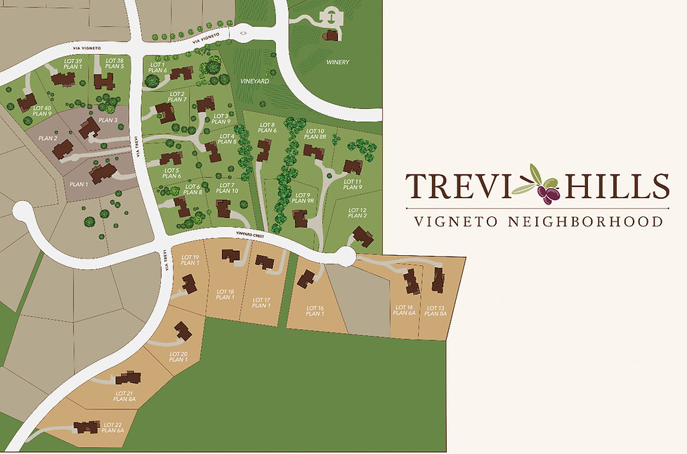 Current San Diego new home lots for sale