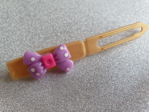 Bow top knot barrette 4.5cm by Posh Puppy